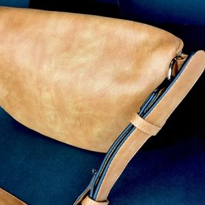 CLOSET REHAB Bags - Quilted Waist Pack in Cognac